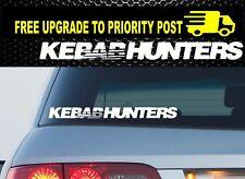 KEBAB HUNTERS Car Vinyl Decal Sticker Quality Funny JDM speedhunters