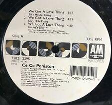 "Cece Peniston We Got a Love Thang (1992)  6 Remixes (VG+) 12"" ships free"