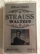 Platinum Classics-Strauss Waltzes-Cas. Tape-1991 Golden Classics/Circle RARE! #3