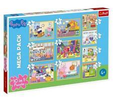 Trefl Puzzle Peppa Wutz Pig 10 in 1 -- 4 x 20, 3 x 35, 3 x 48 Teile