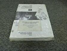 John Deere 410E Backhoe Loader Operation & Tests Service Repair Manual TM1610