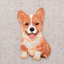 Dog - Corgi Puppy - Pets/Animals - Iron on Applique/Embroidered Patch