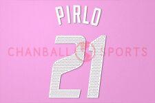 Pirlo #21 2002-2004 AC Milan Homekit Nameset Printing
