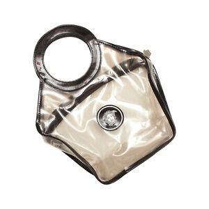 Versace Handbag Clear Transparent Plastic Medusa Mini Bag