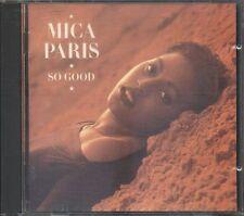 Mica Paris - So Good Early Island Press No Barcode Cd Vg