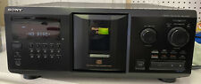 Sony CDP-CX355 300 Disc Changer CD Player Jukebox w/ Remote Manual & Audio Cable