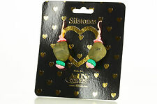 NEW AnUNe- For You Silstones Earrings No 102, 1 Pair, Silicone Jewelry, women