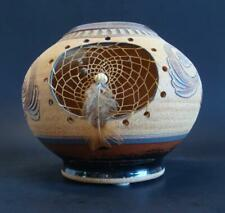Native American Navajo Dream Catcher Vase Very Nice Condition