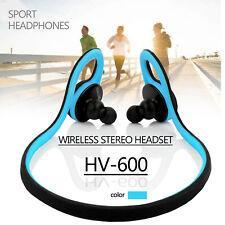 HandsFree HV-600 Wireless Bluetooth Stereo Headset Sport Headphones With Mic