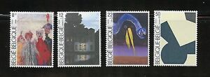 Belgium Complete MNH Set #B1032-1035 Paintings Stamps