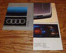 Original 1984 1985 1986 Audi Full Line Sales Brochure Lot of 3 84 85 86 4000S