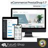 Sito Web e-Commerce con Piattaforma PrestaShop CMS Vendita Online Negozio Store