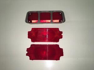 72 Oldsmobile Cutlass Supreme 442 Original Tail Light Lenses