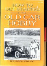 How To Get Started in the OLD CAR HOBBY Restore Classic Plan Project 32pg EC