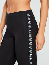 SMALL adidas Originals Women's Slim Fit  ADICOLOR TREFOIL LEGGINGS UK8 US4 1AVL
