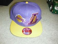 New Era Los Angeles Lakers Snapback Hat 59/50 PURPLE