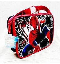 Lunch Bag - Marvel - Spiderman Black Hero Kit Case Anime NWT