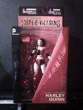 """DC COMICS SUPER VILLIANS HARLEY QUINN  6"""" FIGURE"""