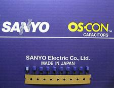 10pcs Oscon Sanyo OS-CON 22µF/10V