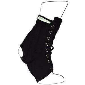 Ankle Brace Lace-Up Ankle Support – 2 Metal Stays for extra support-Lightweight