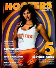 Hooters Magazine #52 Sexy Calendar Pin Up Bikini Models Racing book uncirculated