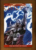 2006 Civil War #3 NM Return Of Thor 2nd Print Variant Marvel 1st Movie