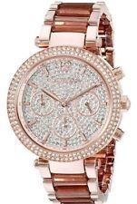 NWT Michael Kors Women's Parker Rose Gold-Tone Watch MK6285