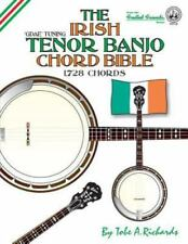 The Irish Tenor Banjo Chord Bible: Gdea Irish Tuning 1,728 Chords (Paperback or