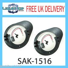 SAK-1516 FORD ESCORT 1995 - 2001 FRONT DOOR 165MM SPEAKER FITTING ADAPTOR KIT