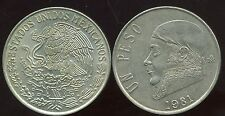MEXIQUE 1 peso 1981