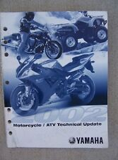 2002 Yamaha Motorcycle Scooter Atv Technical Update Manual Features Repair L