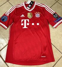 Rare Germany FC bayern Munich Vs Real Madrid Shirt Thiago Spain Barcelona jersey
