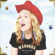 Madonna / Don't Tell Me [4 track Single CD]  Cyber-Raga / Mirwais Ahmadzai GREAT