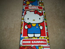HELLO KITTY x GIRL SKATEBOARD DECK 35TH LIMITED EDITION SANRIO CARROLL SUPREME