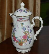 "VINTAGE ""Reichenbach"" Fine China COFFEE POT Made in German Democratic Republic"