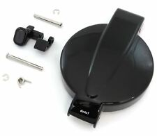 Gloss Black Gas Tank Cap & Latch Honda CB/CL200/350/360/450 CB400F/500/550K/750K