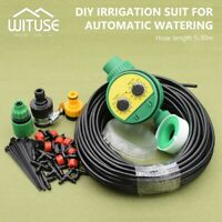 Automatic Irrigation System DIY Water Sprinkler Drip Timer Garden Plant Care 68