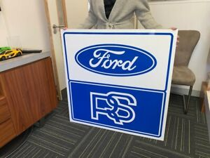Ford RS LARGE High quality Man cave sign E18N