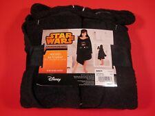 Star Wars Darth Vader Hooded Black Cotton Bath Wrap Disney Lucasfilm NEW