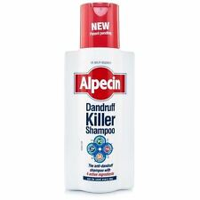 ALPECIN DANDRUFF KILLER SHAMPOO WITH 4 ACTIVE INGREDIENTS - 250ML