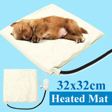Pet Dog Cat Puppy Heating Heated Warm Electric Mat Pad Waterproof Blanket Bed US
