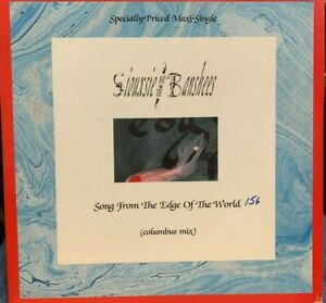 "Siouxsie and the Banshees Song from the Edge of the World 12"" 1987 GEFFEN 20792"