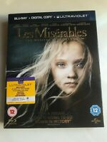 Les Miserables - Blu-Ray  (New & Sealed)