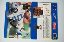 BARRY SANDERS 1992 ACTION PACKED #30 1991 THE ALL MADDEN TEAM