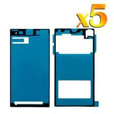5x Para Sony Xperia Z1 L39H Front Adhesivo Glue Sticker Tape LCD Toque Pantalla
