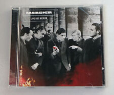 Rammstein LIVE IN AUS BERLIN CD 1999 INDUSTRIAL METAL NU NDH METAL ROCK GERMANY