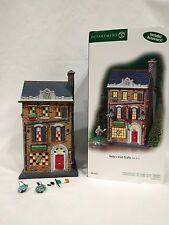 "DEPT 56 Christmas in the City ""Kelly's Irish Crafts"" #59216 READ"