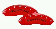 Pontiac Curve Brake Caliper High Temp Vinyl Decal (set of 8)