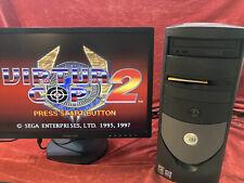 VINTAGE Dell Desktop PC Pentium 4 Windows 98se 2000 Dual Boot Retro Gaming P4 98