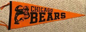 1950's Chicago Bears Football Pennant EX-M